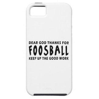Estimadas gracias de dios por Foosball iPhone 5 Case-Mate Protector