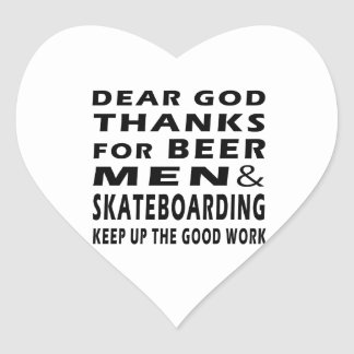 Estimadas gracias de dios por hombres y andar en pegatina en forma de corazón