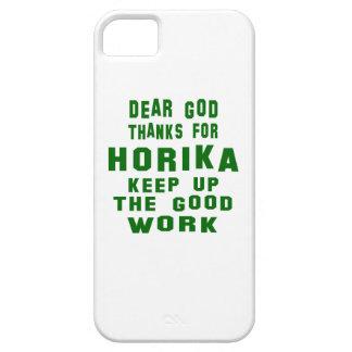 Estimadas gracias de dios por Horika. Funda Para iPhone 5 Barely There