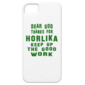 Estimadas gracias de dios por Horlika. iPhone 5 Carcasa