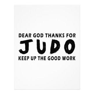 Estimadas gracias de dios por judo plantillas de membrete