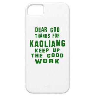 Estimadas gracias de dios por Kaoliang. Funda Para iPhone 5 Barely There