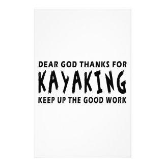 Estimadas gracias de dios por Kayaking Papeleria De Diseño