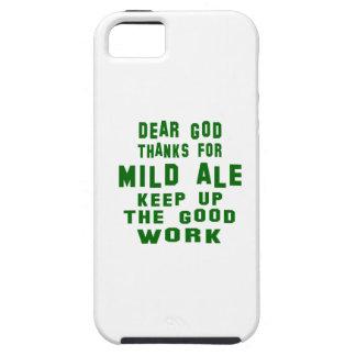Estimadas gracias de dios por la cerveza inglesa funda para iPhone 5 tough