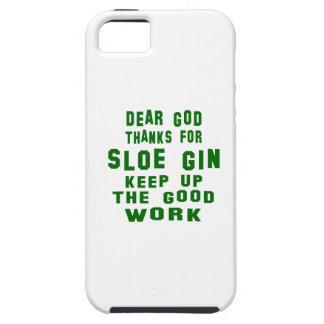 Estimadas gracias de dios por la ginebra de iPhone 5 funda