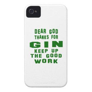 Estimadas gracias de dios por la ginebra iPhone 4 carcasas