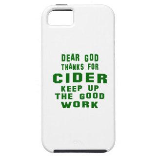 Estimadas gracias de dios por la sidra iPhone 5 carcasas