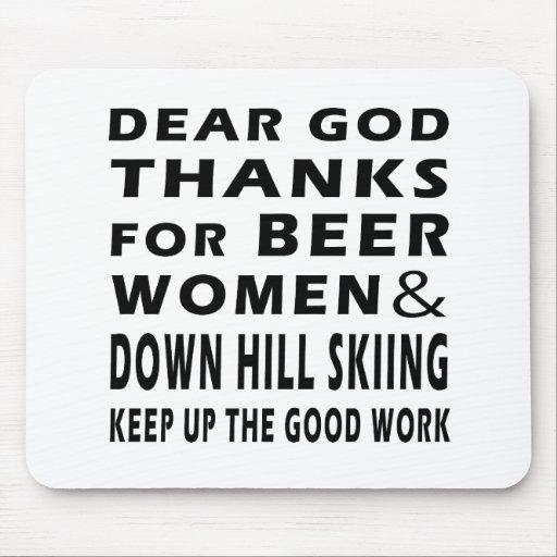 Estimadas gracias de dios por las mujeres y abajo  alfombrilla de ratones