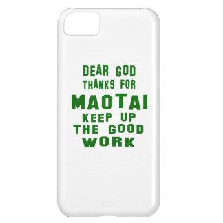 Estimadas gracias de dios por Maotai. Funda Para iPhone 5C