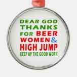 Estimadas gracias de dios por mujeres de la adornos de navidad
