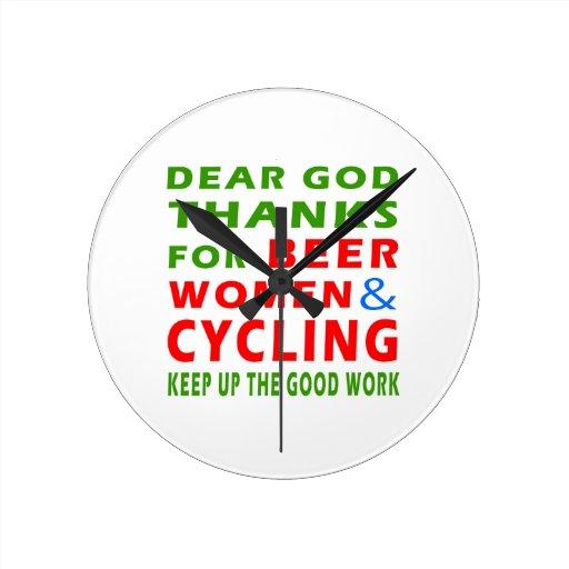 Estimadas gracias de dios por mujeres y el ciclo d relojes