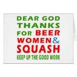 Estimadas gracias de dios por mujeres y la calabaz felicitacion
