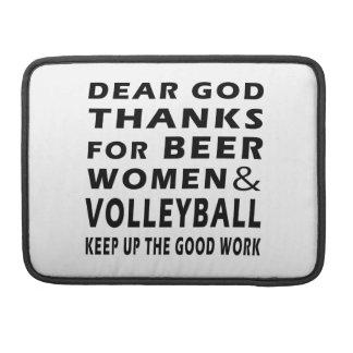 Estimadas gracias de dios por mujeres y voleibol d fundas para macbooks