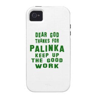 Estimadas gracias de dios por Palinka. Case-Mate iPhone 4 Carcasa
