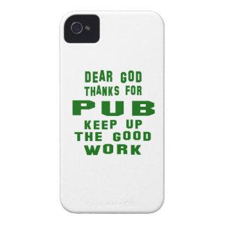 Estimadas gracias de dios por Pub. iPhone 4 Case-Mate Coberturas