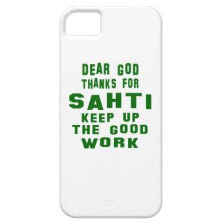 Estimadas gracias de dios por Sahti. iPhone 5 Carcasas