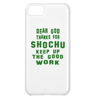 Estimadas gracias de dios por Shochu. Funda Para iPhone 5C
