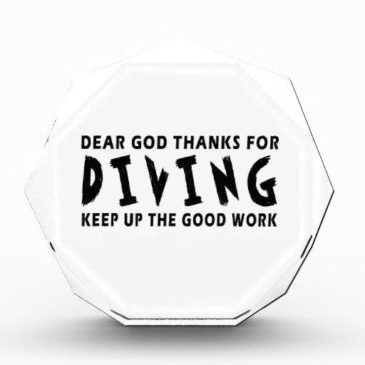 Estimadas gracias de dios por zambullirse