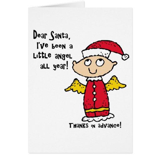 Estimadas tarjetas de Santa