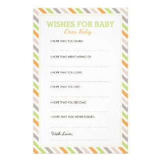 Estimadas tarjetas del bebé del safari dulce  papeleria de diseño