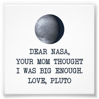 Estimado amor Plutón de la NASA Cojinete