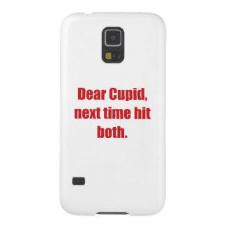 Estimado Cupid, la vez próxima golpeó ambos Funda De Galaxy S5