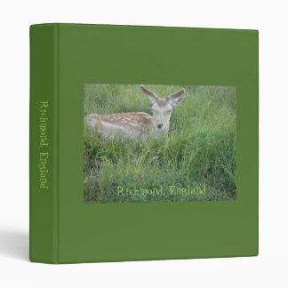 """Estimado Deer Binder Carpeta 1"""""""