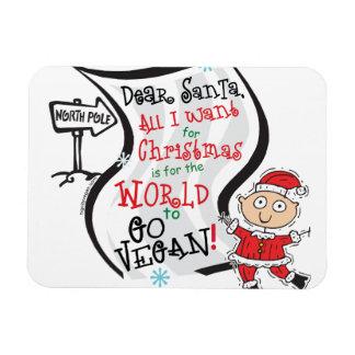 Estimado deseo del vegano de Santa Iman