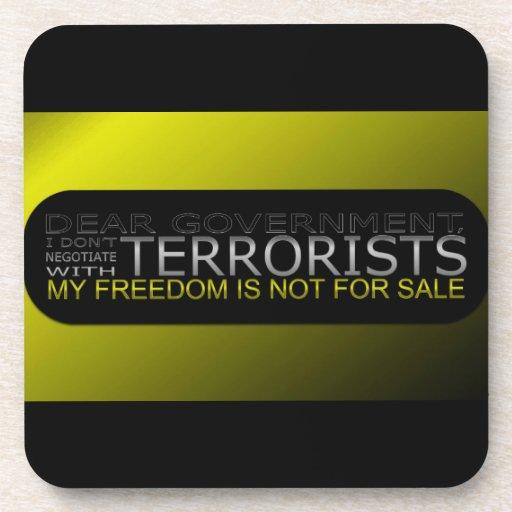 Estimado gobierno: No negocio con los terroristas Posavaso