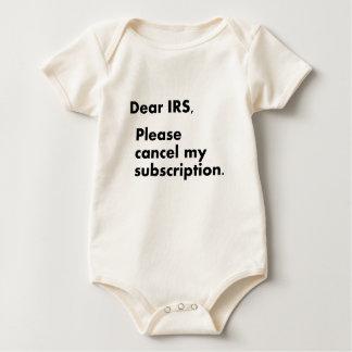 Estimado IRS Enterito