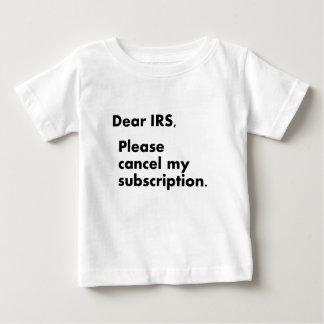 Estimado IRS Poleras