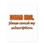 Estimado IRS Postal