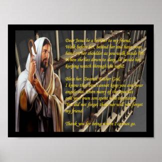 Estimado Jesús sea un hermano a mi interno de la h Poster