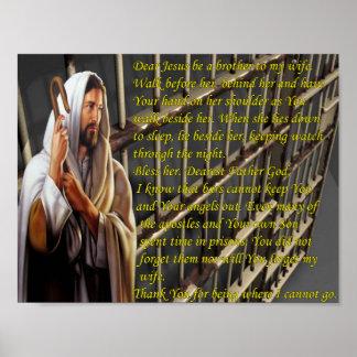 """""""Estimado Jesús sea un hermano interno de mi espos Impresiones"""