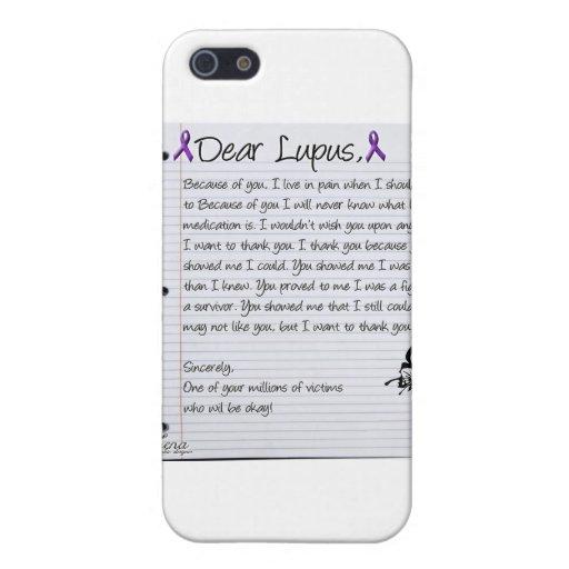 Estimado Lupus. iPhone 5 Carcasa
