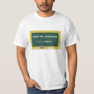 Estimado ms Nickolaus Camisas
