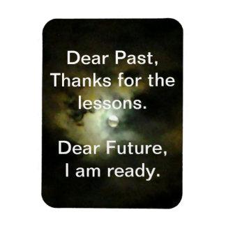 Estimado pasado, estimado Future Imanes Rectangulares