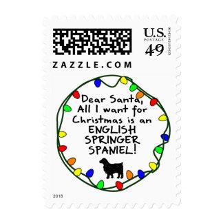 Estimado perro de aguas de saltador inglés de sellos