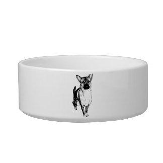 Estimado plato del perro tazón para gato