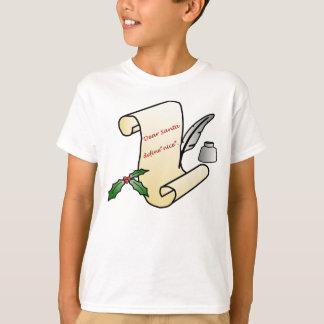 """Estimado Santa, define la camiseta """"agradable"""""""