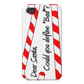 Estimado Santa, define malo iPhone 4/4S Funda