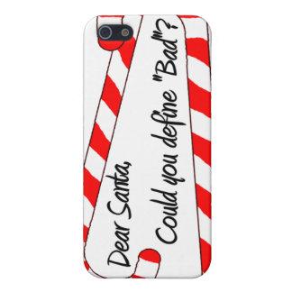 Estimado Santa, define malo iPhone 5 Carcasas