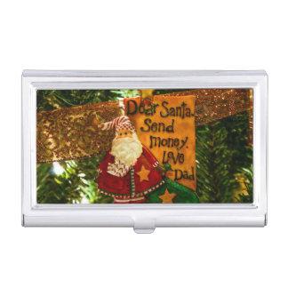 Estimado Santa envía el dinero Cajas De Tarjetas De Visita