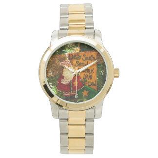 Estimado Santa envía el dinero Reloj