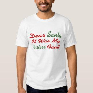Estimado Santa era mi falta de las hermanas Camisas