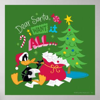 Estimado Santa Poster
