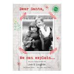 Estimado Santa… podemos explicar la tarjeta de la  Invitación Personalizada