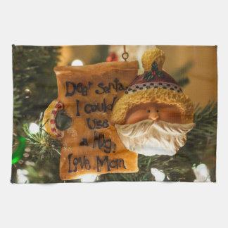 Estimado Santa podría utilizar un abrazo Toallas