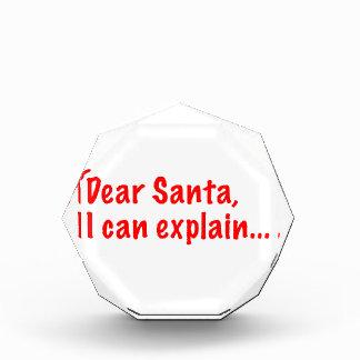 Estimado Santa, puedo explicar…
