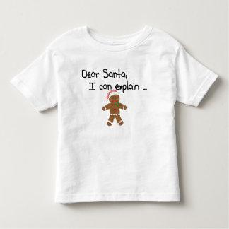 Estimado Santa que puedo explicar Playera De Bebé